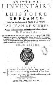 Le veritable inventaire de l'histoire de France