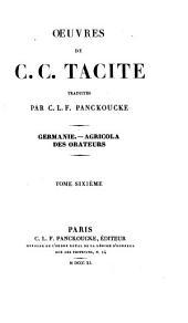 Œuvres de C. C. Tacite: Volume6