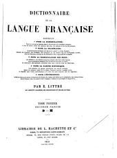 Dictionnaire de la langue française: et supplément, Volume2