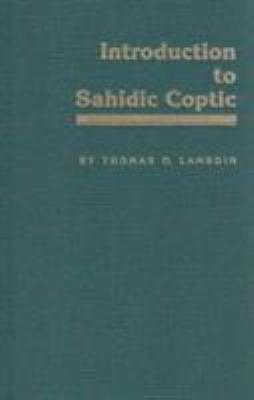 Introduction to Sahidic Coptic