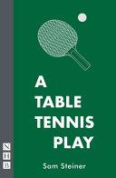 A Table Tennis Play