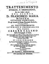 Trattenimento Istorico, E Cronologico: In tre Libri diviso, Volume 2