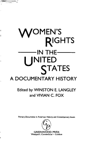 Women s Rights in the United States PDF