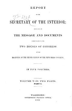 Annual Reports of the Department of the Interior     PDF