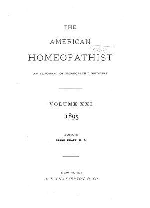 American Homoeopathist PDF