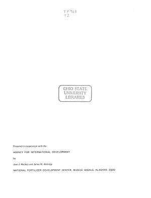 TVA Fertilizer Patents PDF