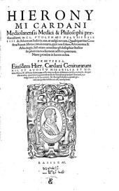 In Claudii Ptolemaei ... IIII de astrorum judicijs aut ... quadripartitiae constructionis libros commentaria ... Ejusdem ... geniturarum 12 ... exempla (etc.)