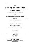 Der kampf in Dresden  im mai 1849 PDF