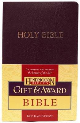 Gift and Award Bible-KJV