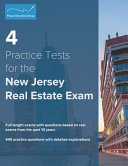 4 Practice Tests for the New Jersey Real Estate Exam