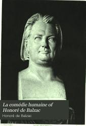 La Comédie Humaine of Honoré de Balzac: Volume 20