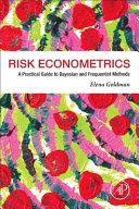 Risk Econometrics