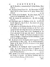 Philosophical Transactions of the Royal Society of London: Giving Some Accounts of the Present Undertakings, Studies, and Labours, of the Ingenious, in Many Considerable Parts of the World, Volume 73