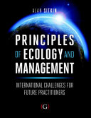 Principles of Ecology and Management PDF