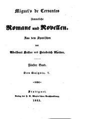 Sämmtliche Romane und Novellen: Bände 5-6