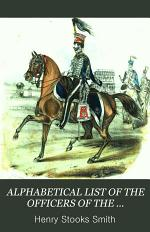 An alphabetical list of the officers of the Yorkshire hussars, from the formation of the regiment to the present time