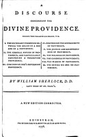 A discourse concerning the divine providence     A new edition corrected PDF