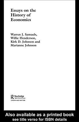 Essays in the History of Economics PDF