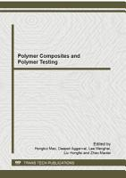 Polymer Composites and Polymer Testing PDF