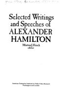 Selected Writings and Speeches of Alexander Hamilton
