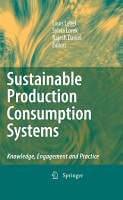 Sustainable Production Consumption Systems PDF