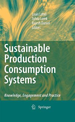 Sustainable Production Consumption Systems