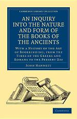 An Inquiry Into the Nature and Form of the Books of the Ancients