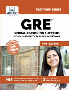 GRE Verbal Reasoning Supreme  Study Guide with Practice Questions PDF