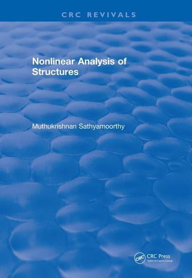 Nonlinear Analysis of Structures  1997  PDF