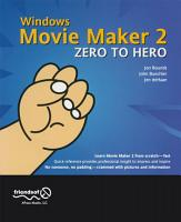 Windows Movie Maker 2 Zero to Hero PDF