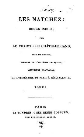 Les Natchez PDF