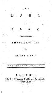 "The Duel, a Play ... The Second Edition. [A Translation by William O'Brien of M. J. Sedaine's ""Le Philosophe Sans Le Savoir"".]"