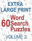 60 Extra Large Print Word Search Puzzles PDF