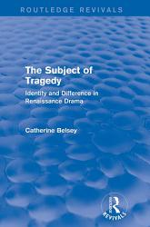 The Subject of Tragedy  Routledge Revivals  PDF