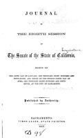 The Journal of the Senate     of the Legislature of the State of California     PDF