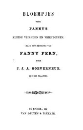 Bloempjes voor Fanny's kleine vrienden en vriendinnen
