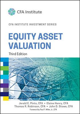 Equity Asset Valuation