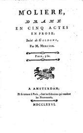 Molière: drame en cinq actes, en prose