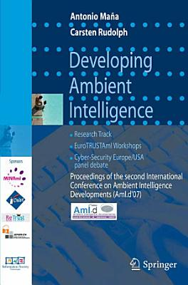 Developing Ambient Intelligence PDF