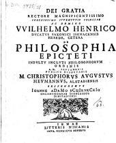 De philosophia Epicteti disp