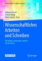 Wissenschaftliches Arbeiten und Schreiben PDF