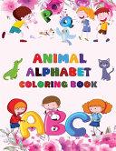 Animal Alphabet ABC Coloring Book For Kids PDF