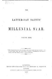The Latter-Day Saints' Millennial Star: Volume 29