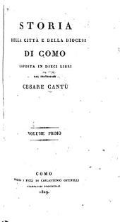 Storia della città e della diocesi di Como: Volume 1
