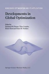 Developments in Global Optimization