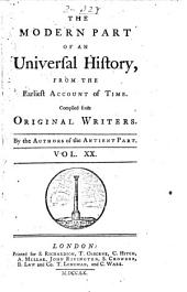 An Universal History, from the Earliest Account of Time: Volume 41