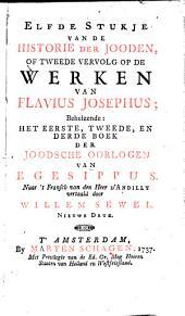 Historie der Jooden of alle de werken... nevens Philoos gezantschap aan Kaligula en Egesippus verhaal van de oorlogen der Jooden: Volume 4
