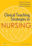 Clinical Teaching Strategies in Nursing PDF