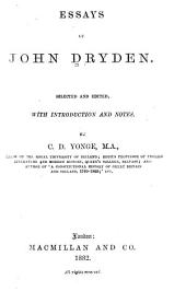 Essays of John Dryden