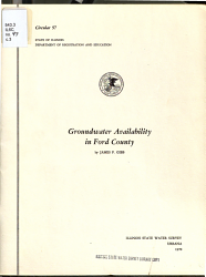 Groundwater Availability in Ford County